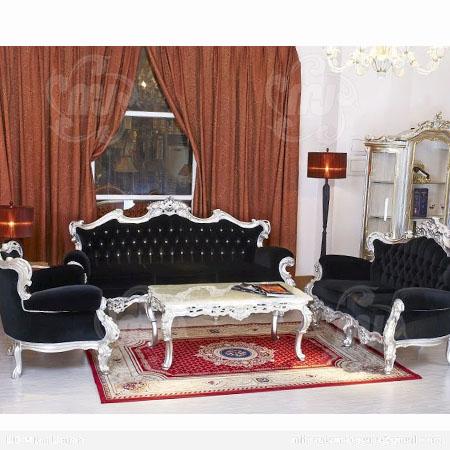 Desain Sofa Tamu Mewah Model Vintage Clasik