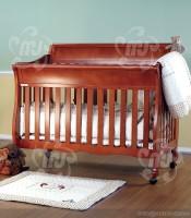 desain box bayi minimalis jati