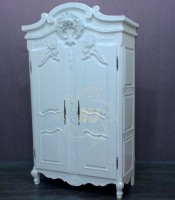 Lemari Pakaian  Pintu Duco Putih terbaru