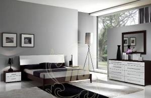 Desain Set Kamar Tidur Minimalis Modern