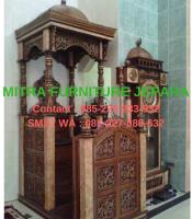 Mimbar-Masjid-Jati-Model-Kubah-7