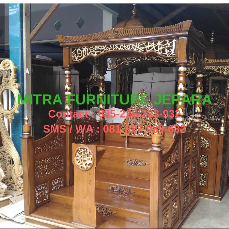 Mimbar-Masjid-Jepara-Model-Terbaru