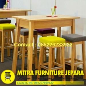 Harga Meja Kursi Cafe Surabaya