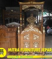 Mimbar-Masjid-Jati-Minimalis-Terbaru