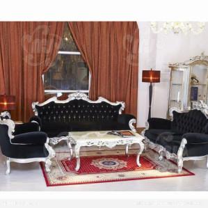 Sofa Tamu Mewah Model Vintage Clasik