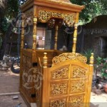 Mimbar Masjid Kayu Jati
