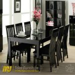 set meja makan minimalis 6 kursi SKM – 005