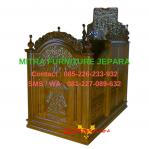 Mimbar Masjid Jepara Motif Ukiran
