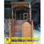 Mimbar Masjid Jati Model Minimalis