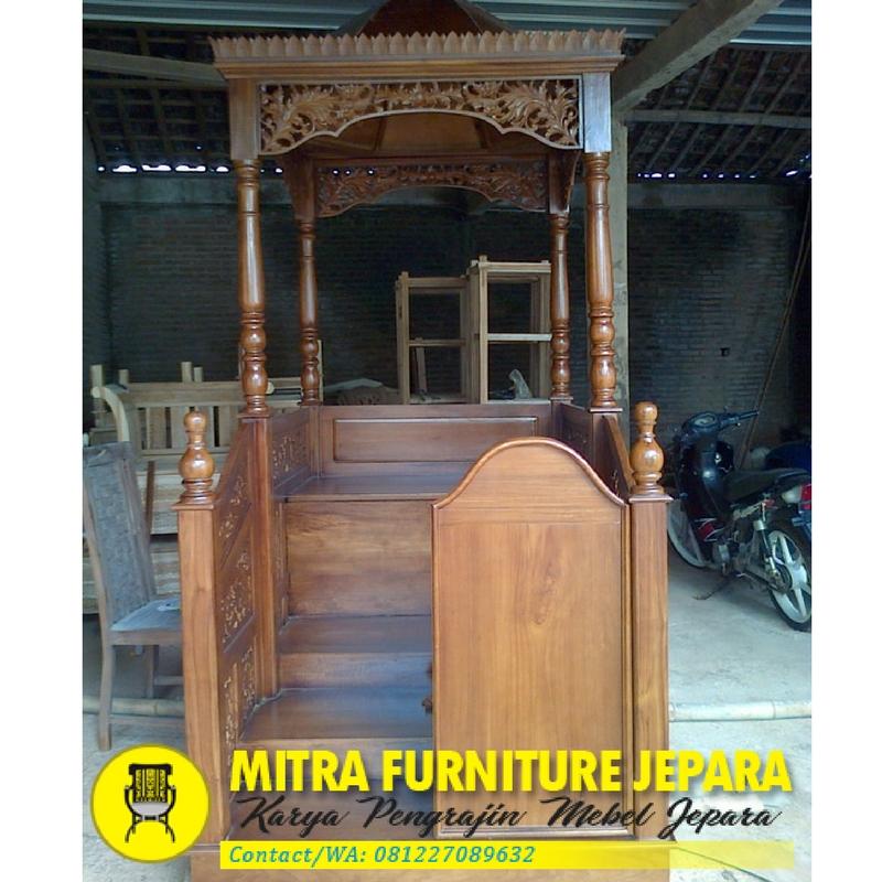 Mimbar-Masjid-Jati-Model-Minimalis